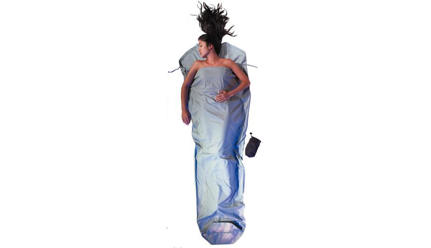 Cocoon MummyLiner - Sacos de dormir - Cotton azul